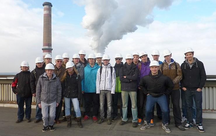 Exkurze E4 do elektrárny Mělník